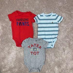 Bundle of Baby Gap 6-12mo Short Sleeve Onesies